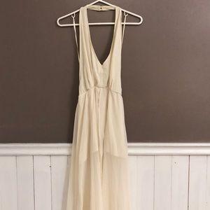 Marilyn Monroe style romper dress (Fashion Nova)